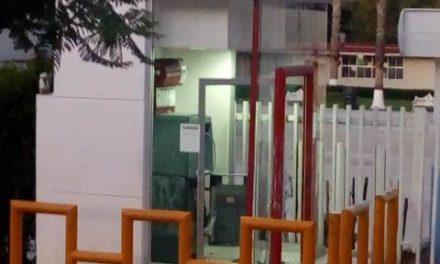 ¡Intentaron robar un cajero de Banorte frente al Instituto de Educación de Aguascalientes!