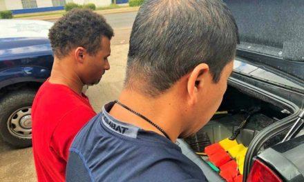 ¡Policías federales detuvieron a un marino de EU y a otro sujeto con 10 kilos de heroína en Zacatecas!