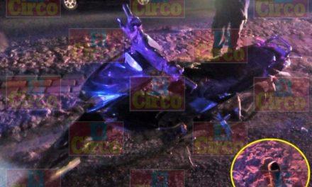 ¡Menor de edad fue atropellado por un motociclista frente a las instalaciones de la Feria en Lagos de Moreno!