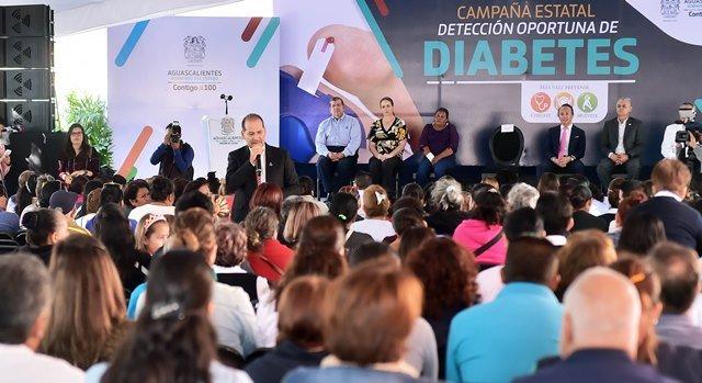 ¡Anuncia el gobernador campaña de detección oportuna de diabetes en educación básica!