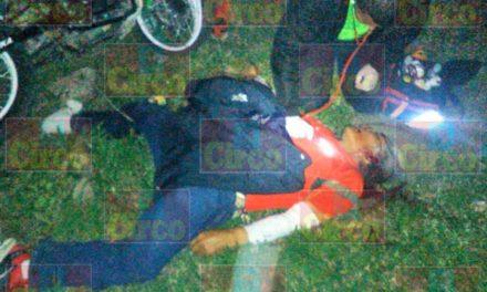 ¡Motociclista falleció tras estrellarse contra un árbol en Unión de San Antonio, Jalisco!
