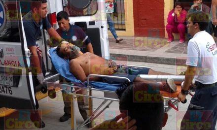 """¡Murió """"El Gordo"""" por las puñaladas que recibió tras agredir y dejar graves a un joven y una bebé en Lagos de Moreno!"""