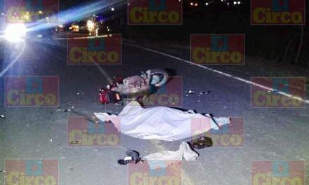 ¡Adolescente motociclista murió tras chocar contra un caballo en Unión de San Antonio, Jalisco!