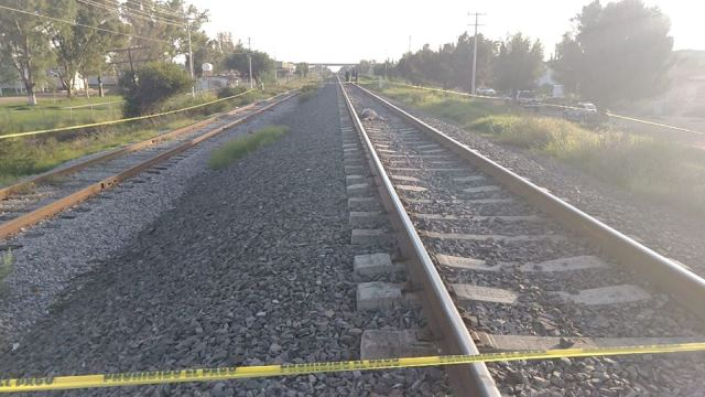 ¡Hombre murió decapitado por el tren en Aguascalientes!