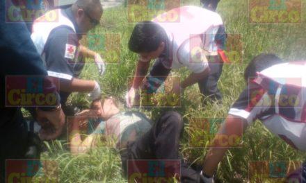 ¡Hombre fue lesionado a tubazos en Lagos de Moreno!