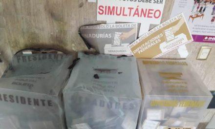 ¡Vinculan a proceso a sujeto que durante la jornada electoral incendiara unas urnas en Aguascalientes!
