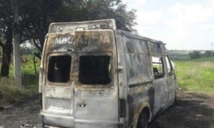 ¡Trabajan autoridades de Zacatecas y Jalisco en esclarecimiento de ambulancia siniestrada!