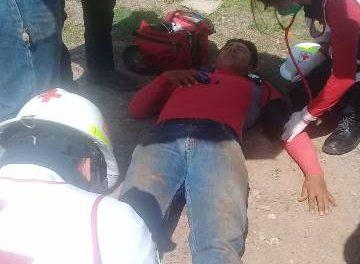 ¡Joven se salvó de morir electrocutado en Aguascalientes!