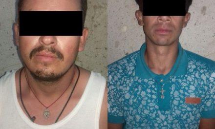 ¡Detuvieron a 3 vendedores de drogas en el operativo BOM en Asientos, Aguascalientes!