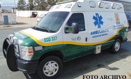 ¡Motociclista resultó lesionado tras ser embestido por un camión en Aguascalientes!