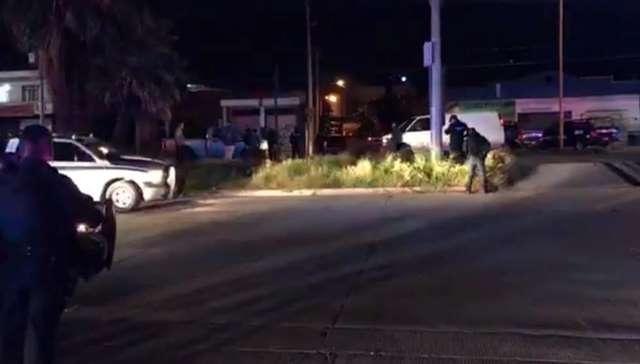 """¡Balacera en Aguascalientes dejó lesionados a un agente ministerial y al narcomenudista """"El Mike""""!"""