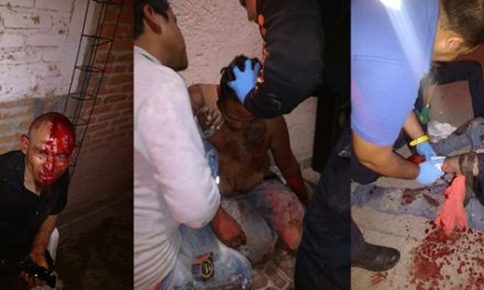 ¡Sangrienta riña en Aguascalientes dejó 3 lesionados con armas blancas!