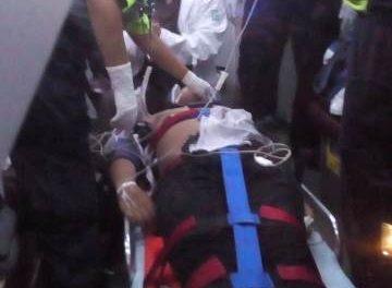¡Choque de motociclistas dejó 3 jovencitos lesionados en Aguascalientes, uno de gravedad!