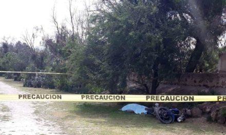 ¡Hombre falleció tras caer de una motocicleta en Pinos, Zacatecas!