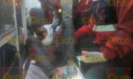 ¡Hombre fue lesionado de dos puñaladas en Lagos de Moreno!