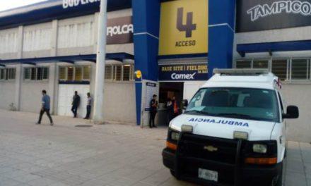 ¡Pistolero asaltó la taquilla del Parque de Beisbol Alberto Romo Chávez en Aguascalientes!