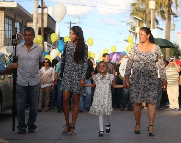 ¡Reconocen en Pabellón de Arteaga trayectoria de la medallista Ana Cristina Narváez!