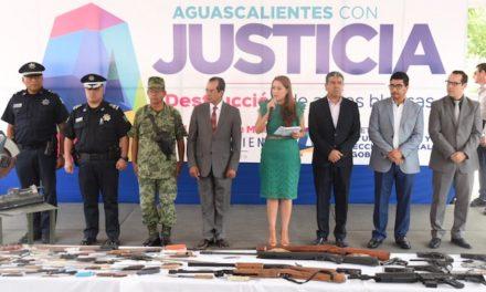 ¡Aguascalientes seguirá siendo una ciudad segura, tranquila y en paz: Tere Jiménez!