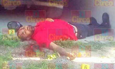 ¡Hombre fue ejecutado de 7 balazos en la cabeza en Ojuelos, Jalisco!