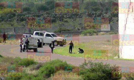 ¡Taxista fue ejecutado de dos balazos cerca del puente El Jorobado en Fresnillo!