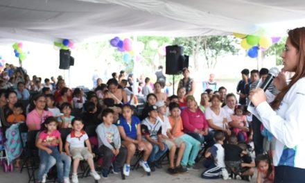 ¡Continuará rehabilitación de espacios públicos en la capital: Tere Jiménez!