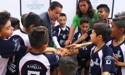 ¡Selección hidrocálida de fútbol Sub 11 se prepara para competir en el Torneo Nacional de Durango!