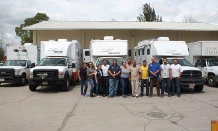 ¡Las caravanas de la salud recorren todas las comunidades de Aguascalientes!