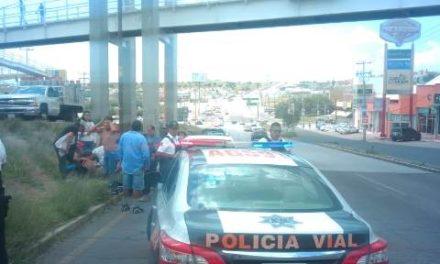 ¡Joven peatón resultó lesionada tras ser atropellada por un automóvil en Aguascalientes!