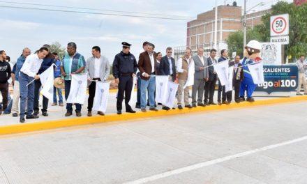 ¡Fortalece Gobierno del Estado la infraestructura vial en Aguascalientes!