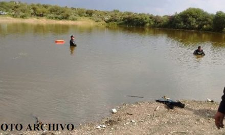 ¡Hombre alcoholizado murió ahogado en la presa de Rivera en Fresnillo!