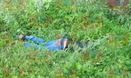 ¡Hallaron a otro hombre ejecutado en La Huitlacocha, Lagos de Moreno!