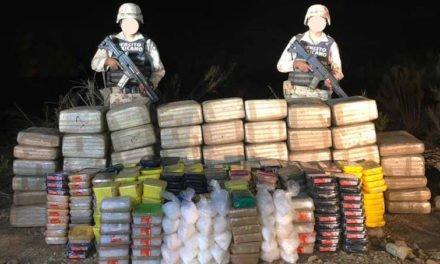 ¡Asegura la SEDENA más de 750 kilos de droga en Ensenada!