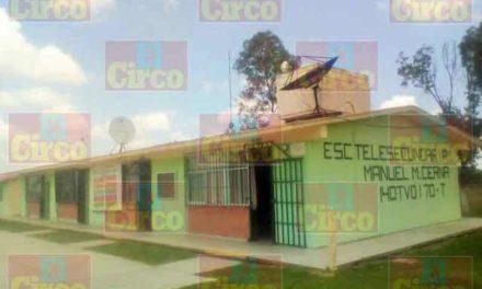 ¡Delincuentes saquearon la telesecundaria de Tacubaya, Jalisco!