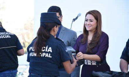¡Tere Jiménez siempre comprometida con la seguridad de Aguascalientes!