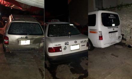 ¡Balearon un taller mecánico en Aguascalientes y dañaron tres vehículos!