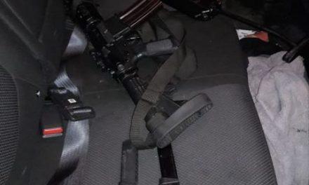 ¡Detuvo la Policía Estatal en Nieves, Zacatecas, a tres sujetos en posesión de cuatro armas de fuego!