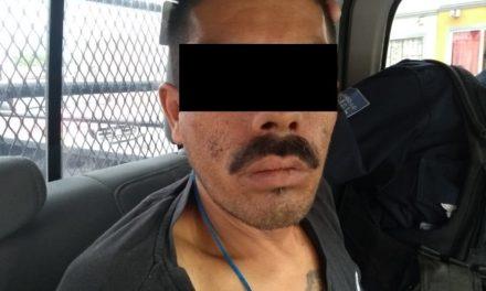 ¡Policías estatales de Aguascalientes detuvieron al sujeto que asesinó a su vecino de un balazo!