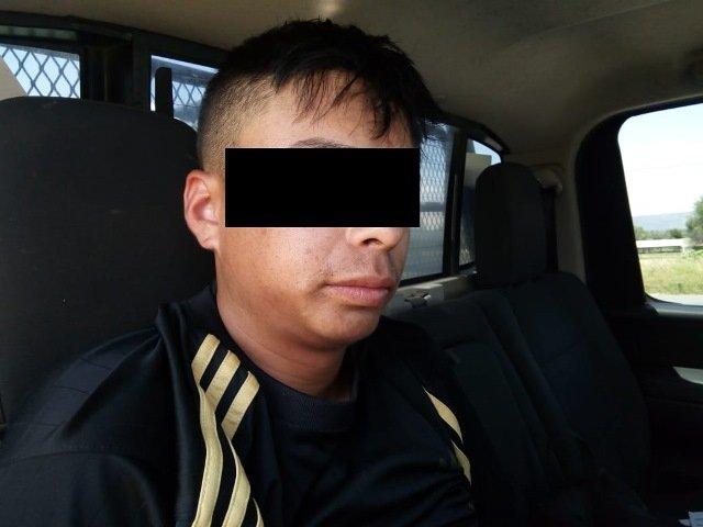 """¡Detuvieron a sujeto con medio kilo de """"crystal"""" en una combi de transporte público en Aguascalientes!"""