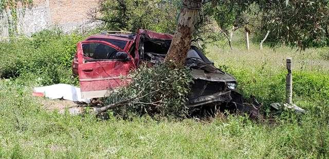 ¡Mujer mató a su sobrino tras un accidente por perseguir a unos asaltantes en Aguascalientes!