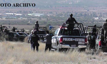 """¡Hallaron a 2 hombres ejecutados en el """"Arroyo del Pantano"""" en Miguel Auza!"""