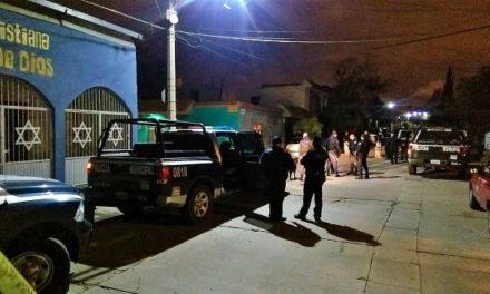 ¡A balazos, sujetos dañaron dos domicilios en Aguascalientes!