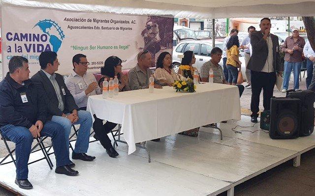 ¡Colaboran Policía Municipal de Aguascalientes y Asociación de Migrantes Organizados!