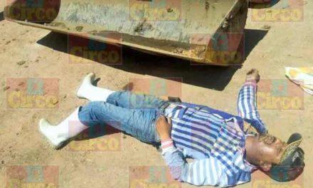 """¡Aguascalentense murió prensado por una """"mano de chango"""" de una retroexcavadora en rancho en Betulia!"""