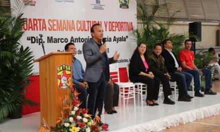 ¡El deporte y la cultura presentes entre los trabajadores del ISSEA!