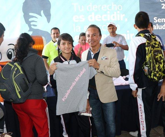 ¡Concluye la Semana Nacional de Salud del Adolescente!