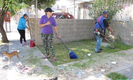 ¡Implementa Ayuntamiento jornadas comunitarias de limpieza!