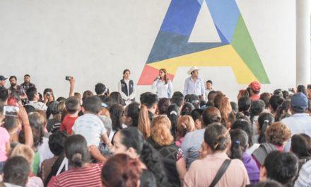 ¡Contribuye Tere Jiménez a que familias de Aguascalientes se alimenten mejor!