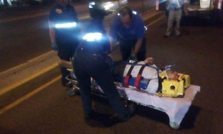 ¡Hombre fue atropellado por una camioneta en Aguascalientes por no utilizar un puente peatonal!