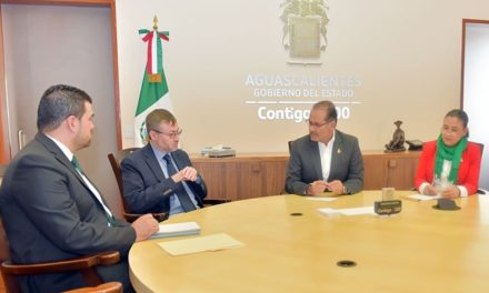 ¡Se reúne el gobernador con el rector de la UAA!