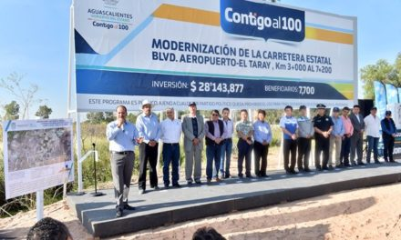 ¡Inician obras de modernización de carretera por 28.1mdp!